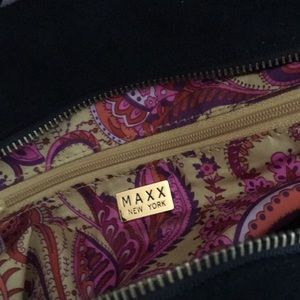 Maxx New York Bags - 2/@20%OFF (6/25-6/30) VINTAGE MAXX N.Y. VELVET BAG